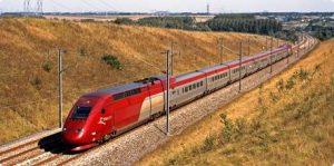 Voyager en train - Train Thalys