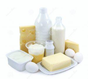 Menu barf sans jeûne - Produits laitiers
