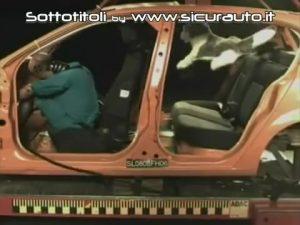 Transport de chien en voiture - Chien volant dans l'habitacle de la voiture